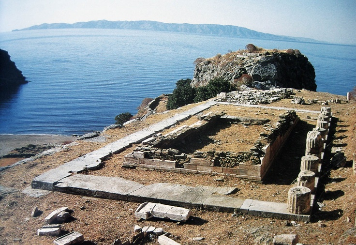 Karthaia - Island of Kea - Archaic temple of Apollo Aristaios
