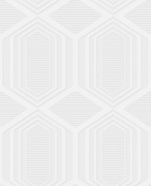 Paintable Textured Wallpaper Geometric