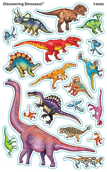 Discovering dinosaurs stickers creative classrooms
