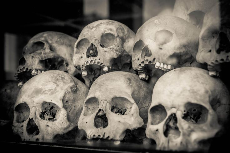 Choeung Ek Skulls by Christopher Waddell on 500px