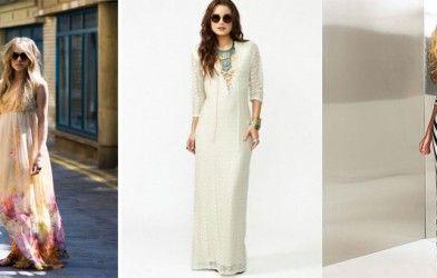 Maksi Elbiseler Nasıl Giyilmeli