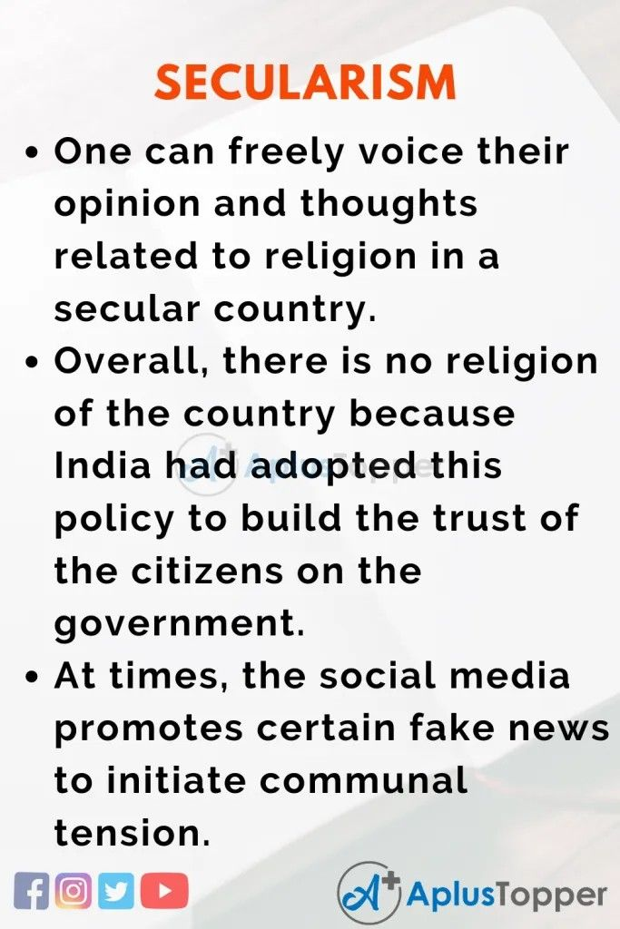 Pin On Essay Secularism Constitution