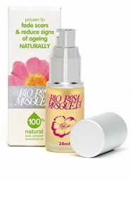 Helping with minor scars and wrinkles, Rio Rosa Mosqueta oil – rose hip oil.  Rich in essential fatty acids (EFA), which are known to be necessary constituents of cell membranes, in the synthesis of the hormone, like prostaglandins and in skin welfare. #scars #wrinkles