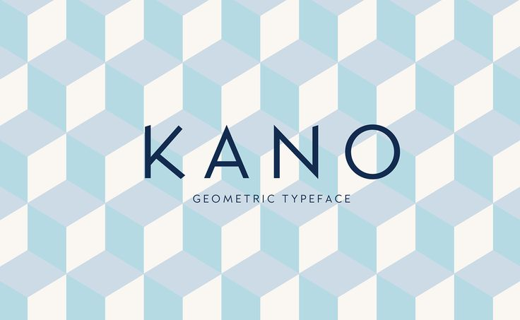 Kano Typeface (Free Font) on Behance by Frederick Lee