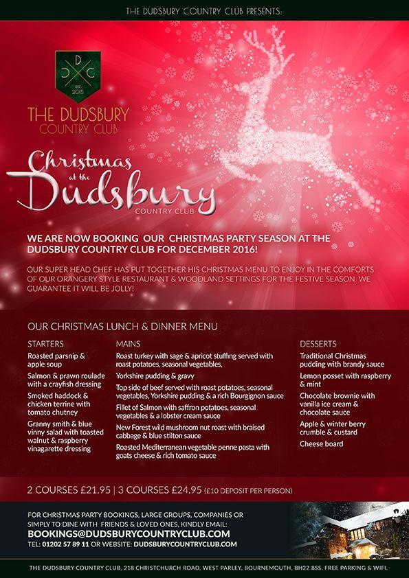 Christmas 2016 at The Dudsbury Country Club