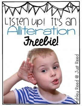 Alliteration is such a fun skill to teach in the classroom.  And it's quite a necessary component of phonemic awareness.  Use these freebies to introduce alliteration to your students while giving them the chance to be creative and have fun!