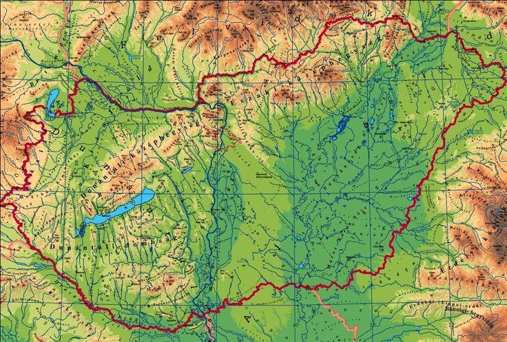 magyarország térképe - Google keresés