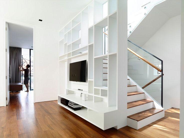 Les 64 meilleures images propos de escaliers sur - Habillage sous escalier ...