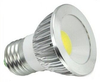 LED Spot Light COB 3W E27  Model: WS-SPLC-3W-E27 Power: 3W Light Base: E27 Input Voltage: AC 85-265V  50/60Hz Lumens: 300LM Color Temperature: White/Warm White Size: Ф50X60mm Equal to Halogen: 35-40W Working Lifetime: >50,000hrs Fixture Material: Aluminum Alloy Dimmable Type: Available   http://www.wsledlight.com/led-spot-light-cob-3w-e27/