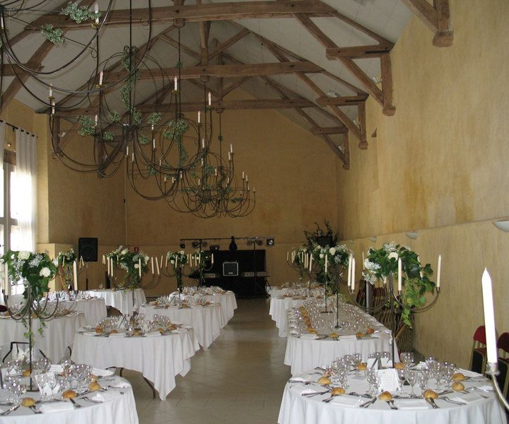 table 2 chateaus table decoration de table wedding table decoration ...