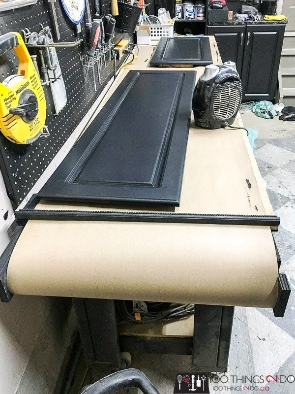 Workbench upgrade – paint guard