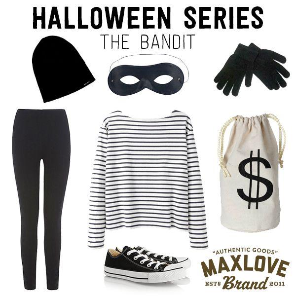 DIY Robber Halloween Costume
