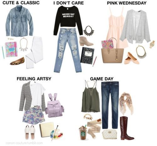 #eac #inspiration #outfits #put #school #style – Back-to-School