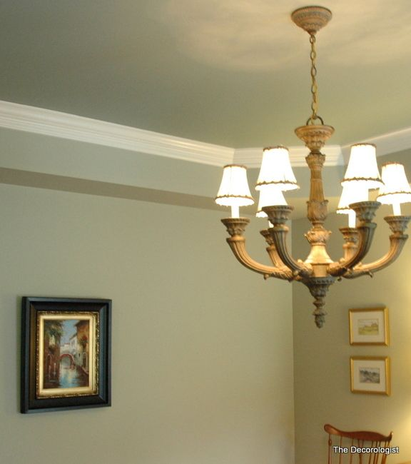Painted Tray Tray Ceiling Wall Color On First Level