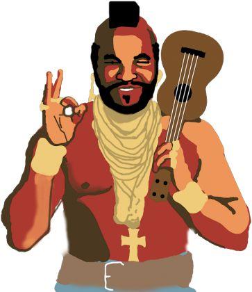 Mr. T UKULELE #ukulele