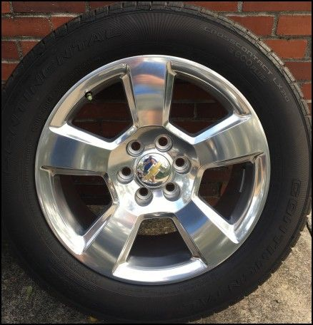 Chevy Silverado Wheels and Tires for Sale
