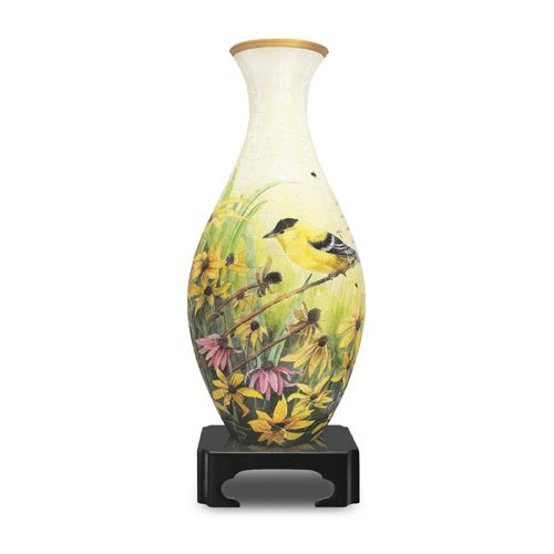 Decorate your Vase by yourself ... Vase Puzzles of 160 pcs... Features perfectly crafted, curved puzzle-pieces Can be easily assembled together to form a solid, smooth ball No glue required