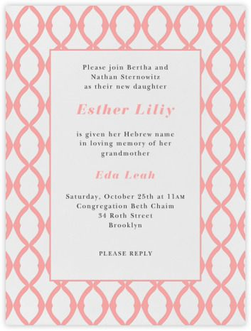 32 best Sweet Baby Shower  - naming ceremony invitation