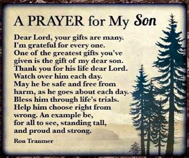 prayer for my son