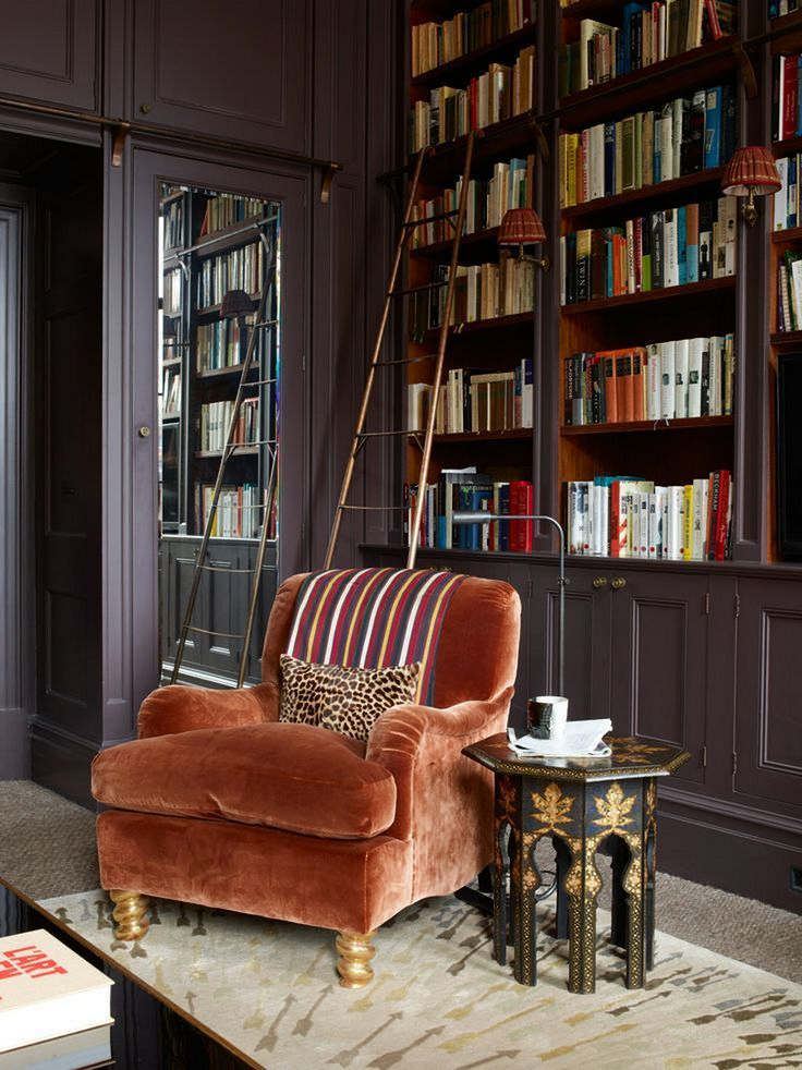 Best 25+ Cozy home library ideas on Pinterest | Library in ...