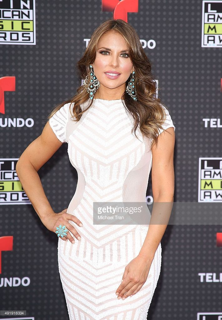 Vanessa Villela arrives at the Latin American Music Awards 2015 held at Dolby Theatre on October 8, 2015 in Hollywood, California.