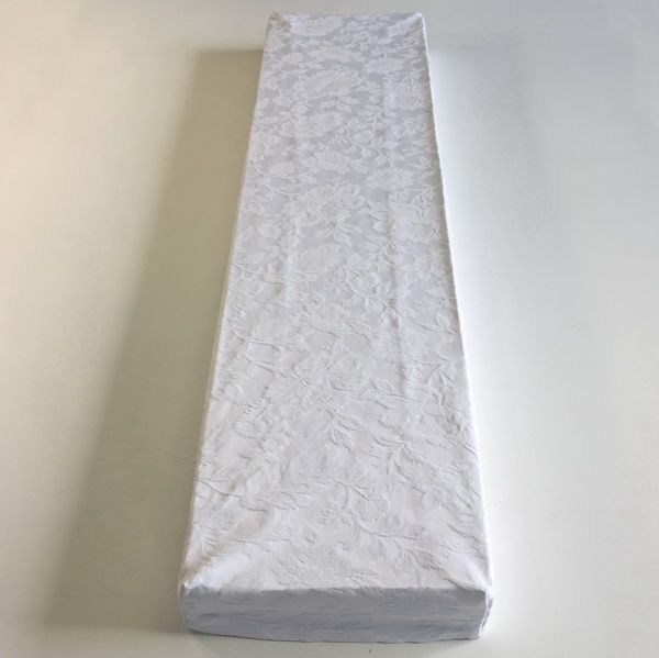 white rose damask box covers