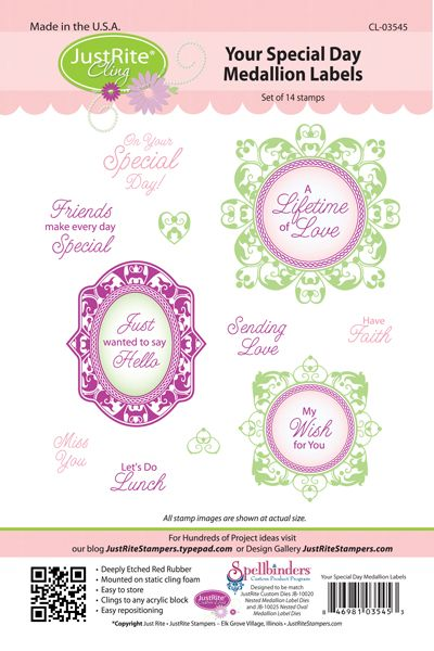 Image result for Just Rite Your Special Day Medallion Labels