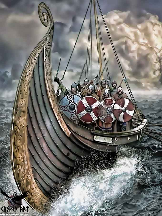 The 25  Best Viking Ship Ideas On Pinterest