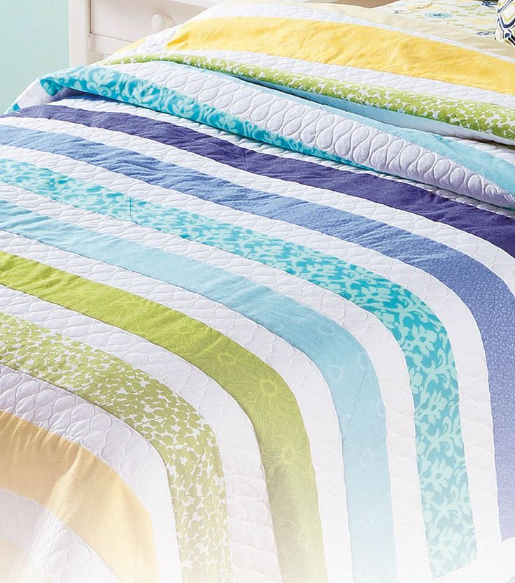 What colors would you choose for this striped #quilt? :) #directions