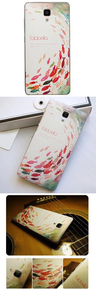 Falabela Fish Pattern 3D Coloured Sculpture Protective Case for Xiaomi 4 -$9.79