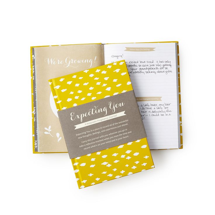 EXPECTING YOU - A KEEPSAKE PREGNANCY JOURNAL | prompt journal, baby book, baby shower gift | UncommonGoods