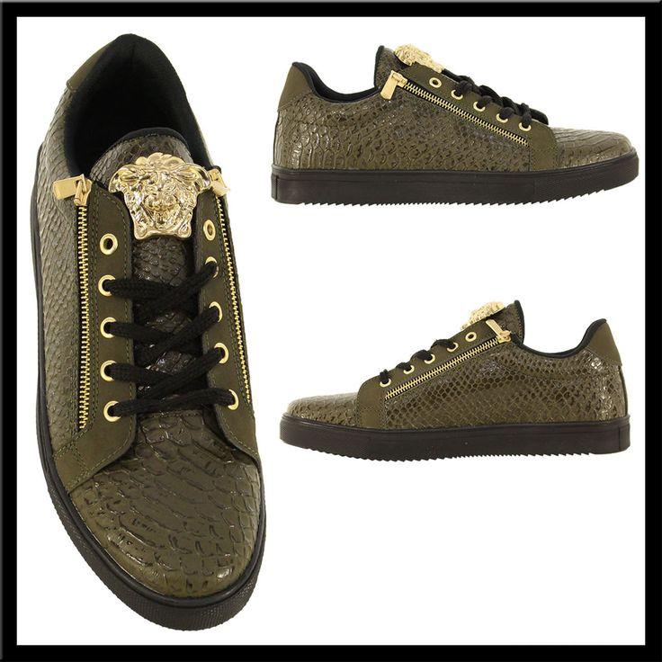 Heren Python Sneakers Groen HCS137 | Modedam.nlDe mooiste heren schoenen bestelt u in onze winkel. Bij ons vindt u verschillende betaalbare sneakers, nette schoenen en sport schoenen. U vindt gegarendeerd de exclusieve schoenen die u outfit compleet maakt. Bekijk ons collectie!!! Er is vast wel een