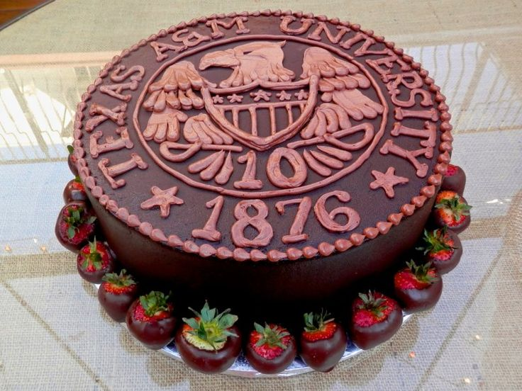 Texas A Seal for the Groom's Cake