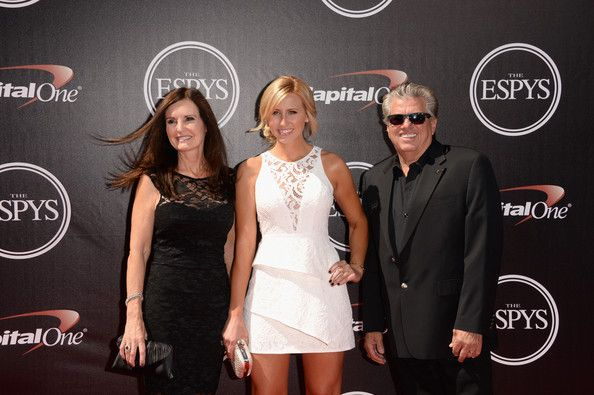John Force Photos Photos - (L-R) Laurie Force, Courtney Force and John Force attend The 2014 ESPYS at Nokia Theatre L.A. Live on July 16, 2014 in Los Angeles, California. - Arrivals at the ESPYS — Part 4