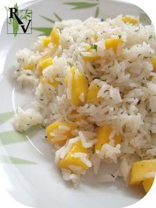 Salade de Riz, Mangue & Menthe