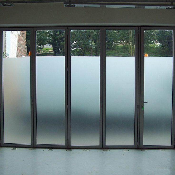 amazoncom amposei nonadhesive etched privacy film for glass windows doors 354