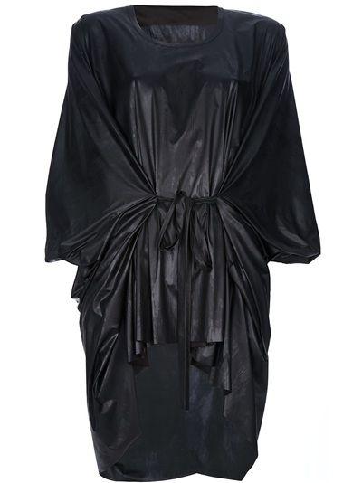 Barbara I Gongini - Rubber Dress 1 #vegan #vegandress #veganclothes #veganclothing #veganfashion #veganstyle #dress #littleblackdress #black