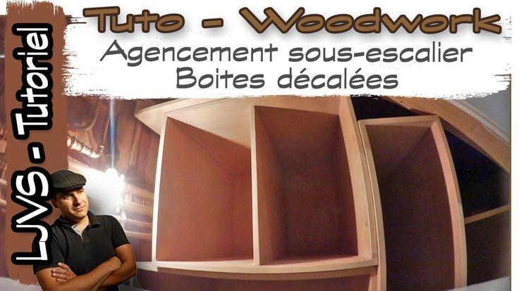 Agencement Sous Escalier Boites D Cal Es Tuto Woodwork