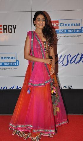 Genelia D'Souza https://twitter.com/geneliad in beautiful, colorful Lehenga Choli