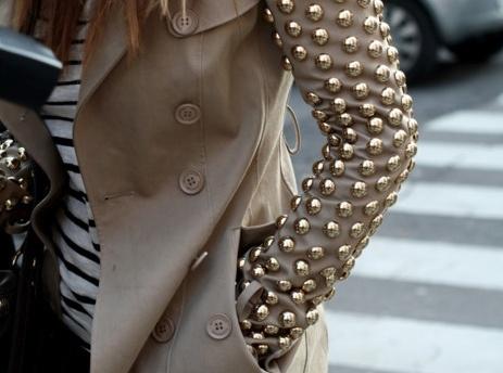 Studded sleeve #superettestore