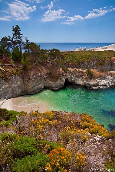POINT LOBOS STATE RESERVE, CARMEL, CALIFORNIA China Cove