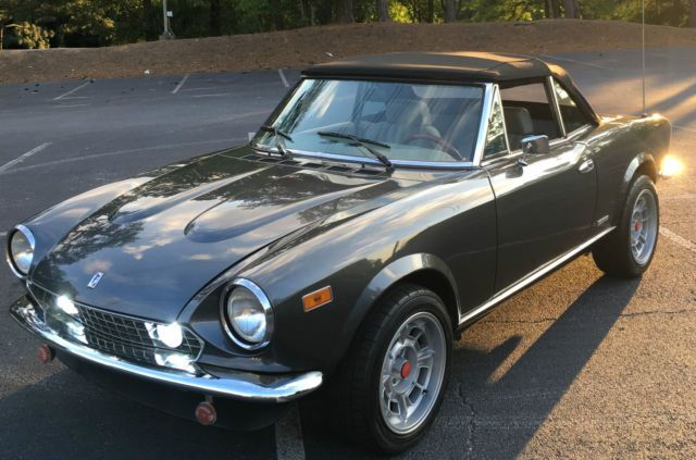 Fiat 124 Spider For Sale >> Pin on cars