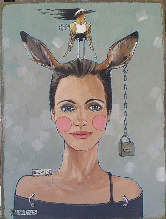 Mariaan Kotze Art. Decor. Gifts Handwash only 30x40cm  acrylic on boxed canvas http://ift.tt/2eTgS8i