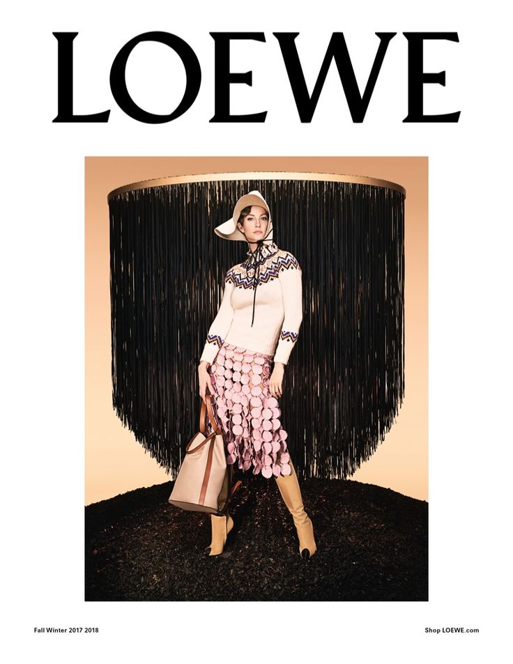 Gisele Bundchen layers up in Loewe's fall-winter 2017 campaign
