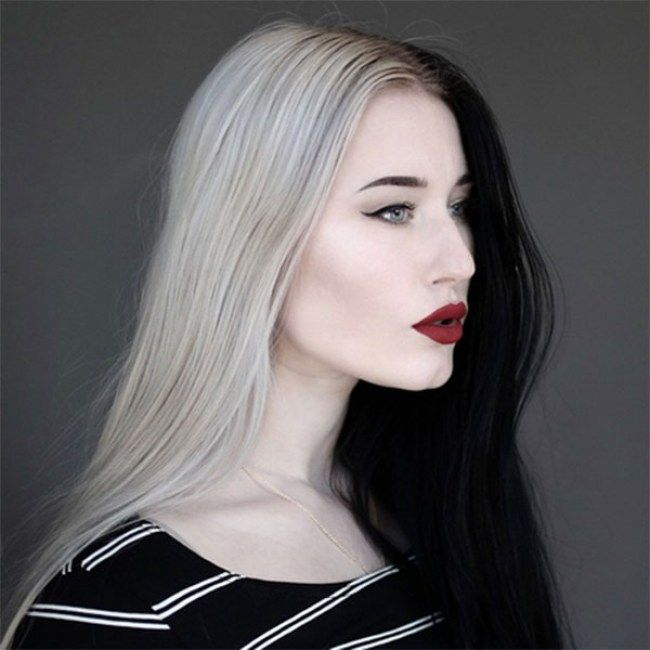 Would You Dye Your Hair Like Cruella De Vil? Half And Half ...