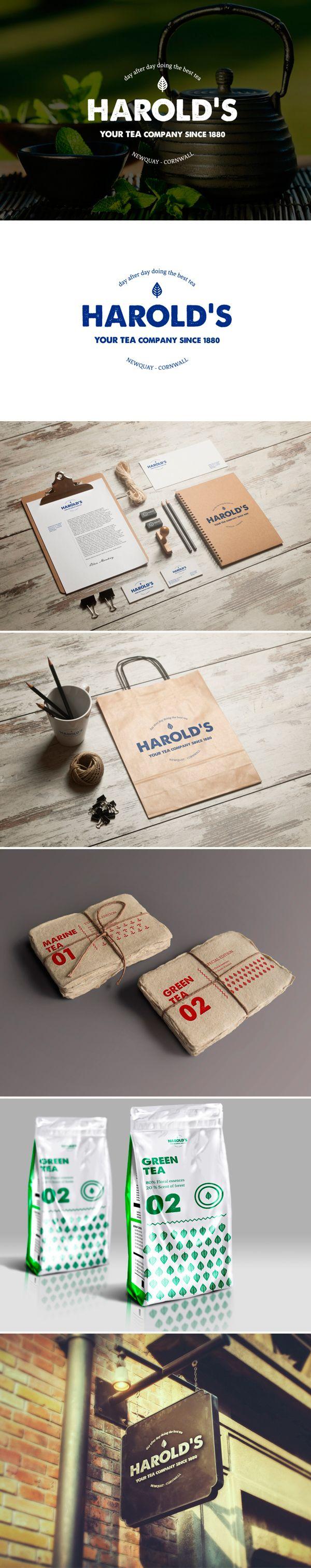 identity / harold's tea company