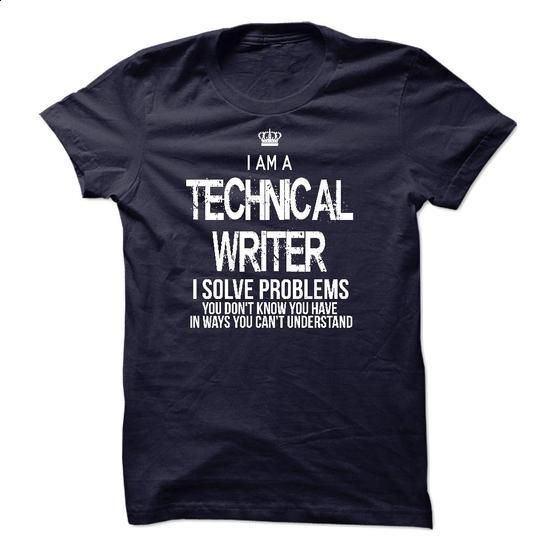 I Am A Technical Writer - #cheap sweatshirts #wholesale hoodies. PURCHASE NOW => https://www.sunfrog.com/LifeStyle/I-Am-A-Technical-Writer-44821607-Guys.html?60505