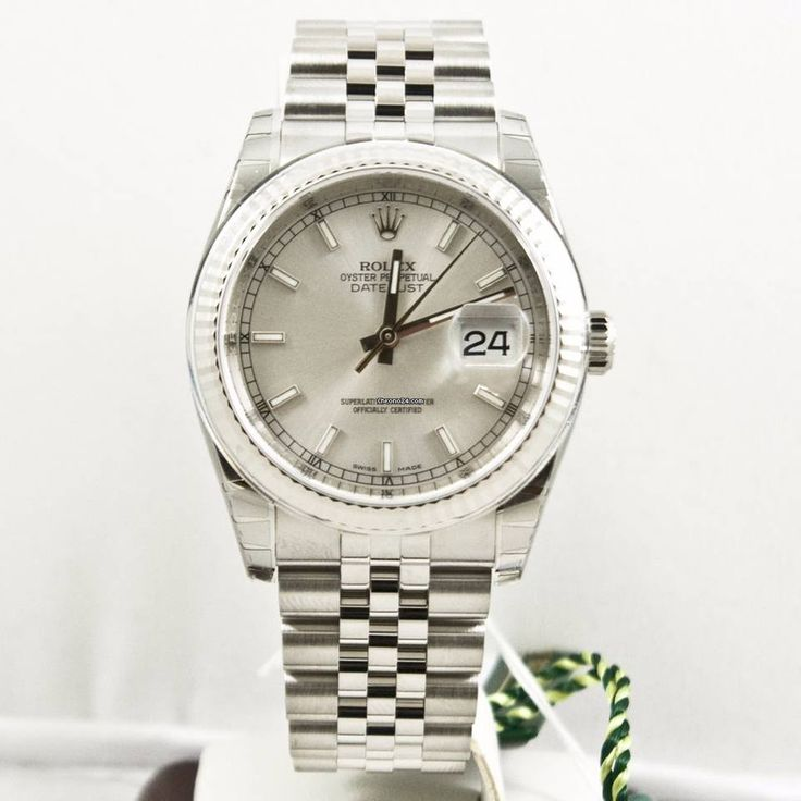 Rolex Datejust ad: $6,395 Rolex Datejust 36mm 116234  Silver Dial Box & Papers Unused 2016 Ref. No. 116234; Steel; Automatic; Condition 0 (unworn); Year 2016; New; With box; With papers;