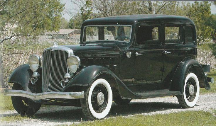 1933 Hudson Pacemaker Eight