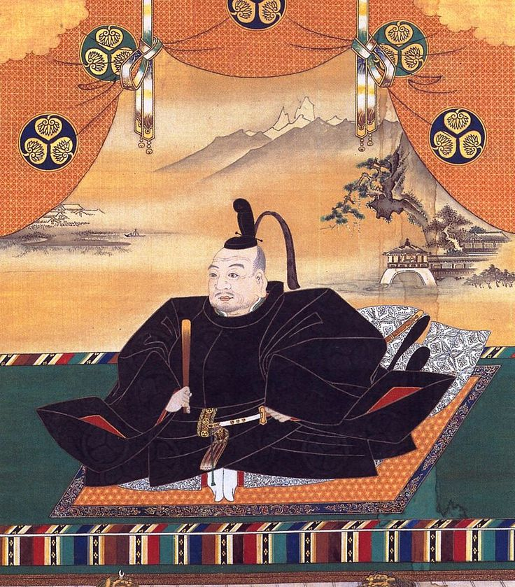 "Portrait of Tokugawa Ieyasu, the inspiration for the character Tokugawa in James Clavell's novel, ""Shogun."""